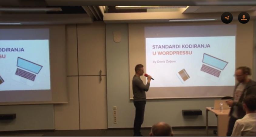 Standardi kodiranja u WordPressu - Denis Žoljom
