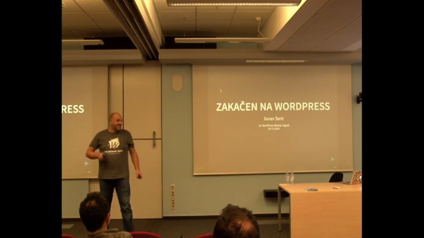 Zakacen na WordPress